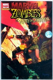 Marvel Zombies vs. Army of Darkness #1 Dynamite Entertainment X-Men Variant AOD Marvel comic book